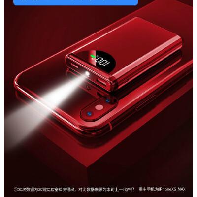 迷你充电宝20000毫安大容量超薄便携移动电源苹果华为vivo小米手机小巧可爱女生创意快充专用冲石