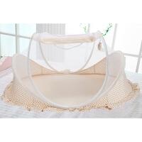 免安装可折叠婴儿蚊帐罩宝宝蒙古包支架有底新生儿童床蚊帐0-3岁