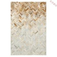 拼接地毯定制家用几何客厅沙发茶几垫卧室床边毯 HY04