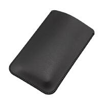 小米移动电源收纳包袋 充电宝保护套10000毫安标准版 皮套 包 黑色 单层