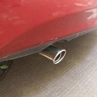 新骐达排气管尾喉尾段改装专用不锈钢尾气罩尾节汽车用品配件装饰 骐达专用 原车有尾喉的勿拍