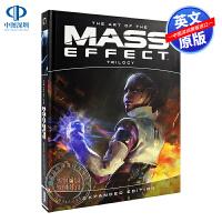 英文原版 质量效应三部曲 游戏设定集 The Art of the Mass Effect Trilogy: Expan