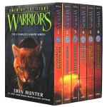 猫武士四部曲1-6册盒装 英文原版动物奇幻小说 Warriors Omen of the Stars 第四部星预言系列
