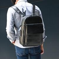 2018新男包韩版潮书包中学生女PU皮男士双肩包 男背包休闲旅行包
