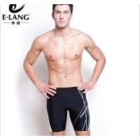 男士泳裤5分裤平角长款五分加大游泳衣温泉泳装