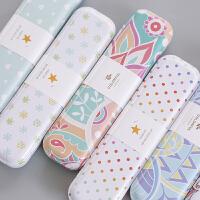 韩国创意马口铁文具盒 女孩小学生铅笔盒 多功能铁盒 可爱萌萌哒