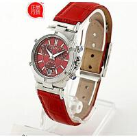 正品 CASIO卡西欧时尚镶钻皮带女式手表SHN-5005L