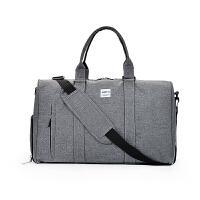 短途旅行包女手提大容量男鞋位健身包单肩包行李包旅行袋斜跨包潮 大
