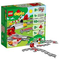 当当自营 乐高LEGO得宝Duplo系列10882火车轨道