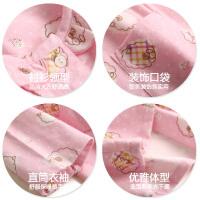 长袖产妇哺乳衣 春秋季产后孕妇睡衣大码月子服 棉