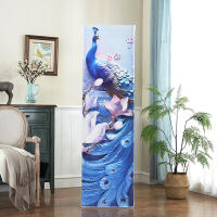 韩式立式方形空调罩柜机罩防尘套子客厅美的格力2p3p5匹全包布艺