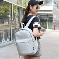 双肩包男女学生书包时尚潮流简约防水背包休闲电脑包