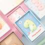 少女心创意可爱简约独角兽兔子小恐龙发泄手账本 网红好看的手帐本