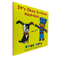 进口原版 It's Okay to Make Mistakes 精装 [3-6岁]