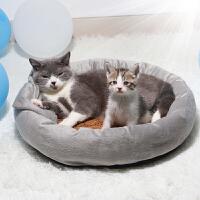 蛋挞猫窝猫屋四季通用宠物冬季保暖狗窝猫咪用品夏天凉席猫床加厚