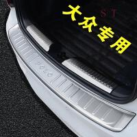 17/2017款大众新宝来全新捷达改装专用后护板后备箱装饰朗逸饰条