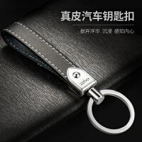 手工真皮钥匙扣男士个性手拿汽车钥匙链圈挂件奔驰奥迪车适用