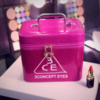 韩国大号手提化妆品收纳袋包包旅行便携少女心可爱包盒大容量