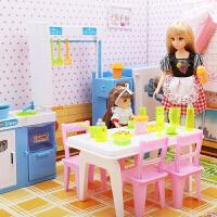 儿童玩具屋小女孩生日礼物6-10岁女童玩具芭比娃娃套装