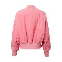 【全场2件2.5折,到手价:99.8】美特斯邦威棉服女冬装复古灯芯绒夹克ins小个子棒球服休闲短外套