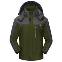 天天冲锋衣男女冬季加厚加绒保暖户外防风防水外套大码冲锋衣
