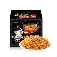 【爆品直降】三养SAMYANG超辣鸡肉味拌面五连包140g*5包(韩国进口 袋)新老包装更换随机发货