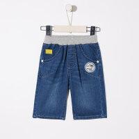 【2件1.5折价:26.9,可叠券】moomoo童装男童六分牛仔裤