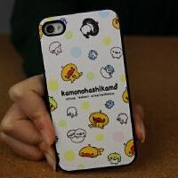 iphone4s保护套可爱磨砂硅胶软硬边框苹果4手机壳
