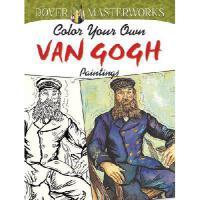 【预订】Color Your Own Van Gogh Paintings Y9780486779508