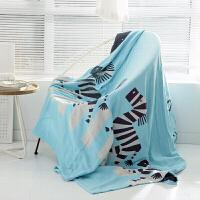 四层纱布双人毛巾被空调盖毯办公毛毯午睡毯200*230cm 200cmx230cm