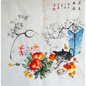 职业画家   许鲁   清香雅韵
