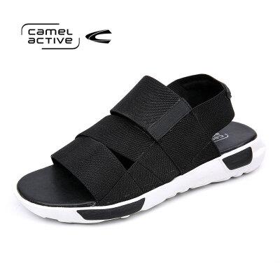 骆驼动感(camel active)新品沙滩鞋 男凉鞋厚底 夏季休闲潮鞋韩版
