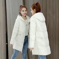 女中长款加厚外套棉袄学生冬季韩版羽绒棉衣反季 X