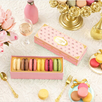 玛呖德正宗法式马卡龙甜点糕点西式点心零食品6枚礼物甜品
