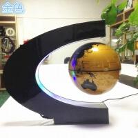 6寸发光自转磁悬浮地球仪办公室桌摆件创意生日礼物工艺会议礼品
