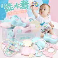 手摇铃婴儿牙胶益智玩具0-3-6-12个月宝宝1岁幼儿新生5男女孩8