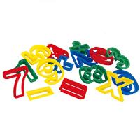 20180519150153697彩泥动物字母模具组合印模工具雪糕机儿童橡皮泥创意套装