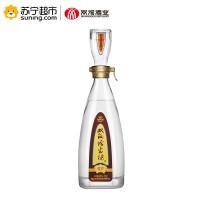 【苏宁超市】柔和双沟珍宝坊君坊41.8度480mL浓香型白酒 江苏名酒