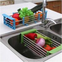 创意家居多功能居家日用厨房用品用具小百货水槽神器沥水置物架子