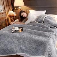 毛毯被子加厚珊瑚绒毯子冬季床单办公室午睡毯盖毯单双人学生毯子