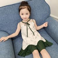 童装女童连衣裙夏装公主裙新款女孩衣服韩版夏季儿童洋气裙子