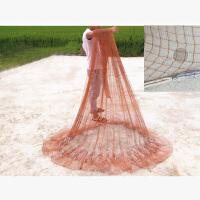 撒网自动传统老式手工编织撒渔鱼网轮胎线易抛王捕鱼美式手抛网