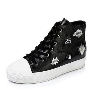 Tata/他她秋季专柜同款牛皮女靴2U306CD6