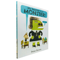 英文原版 My Teacher Is a Monster! (No, I Am Not.)