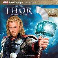 Thor Read-Along Storybook and CD 英文原版 《雷神》朗读书+CD