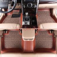 长安奔奔CS35 CX20欧力威悦翔致尚风骏专车专用皮革丝圈脚垫 皮革+丝圈汽车脚垫