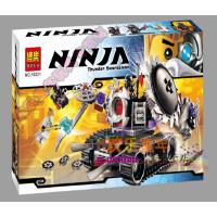 欢乐童年-幻影忍者白色忍者赞毁灭机器人 兼容乐高式10221乐高式塑料乐高式积木