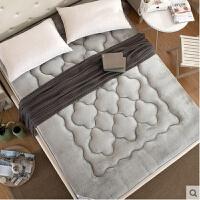 秋季学生寝室床垫儿童珊瑚绒加厚保暖榻榻米海绵床垫海马1.2米1.5