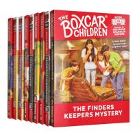 棚车少年91-99册套装英文原版 The Boxcar Children Mysteries Books 91-99 英文版原版书籍 进口英语章节桥梁书 美国经典儿童读物