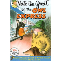 Nate the Great on the Owl Express小侦探内特猫头鹰快递